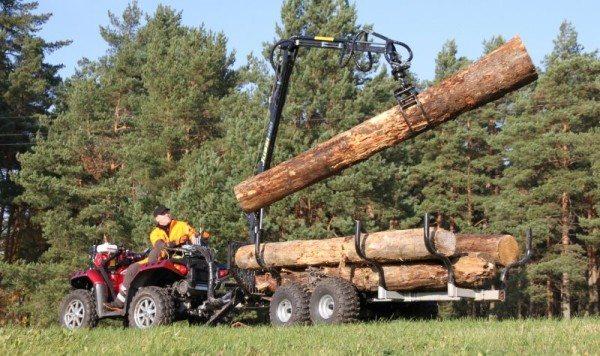 ATV Rückewagen