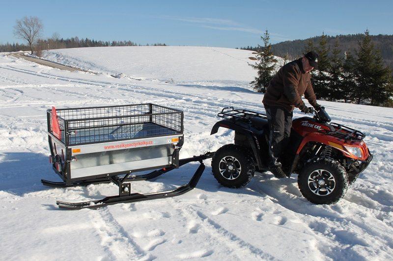 Ski für ATV - Quad Anhänger