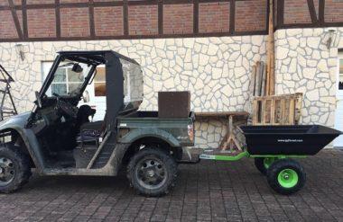 UTV Fahrzeug und Quad Anhänger JOBER 300