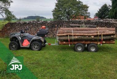 ATV Forstanhänger Waldarbeiter und Arbeitsquad