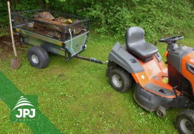 ATV Trailer Gärtner und Rasentraktor